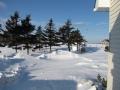 B&B Phares des Dunes Lighthouse,snow 012